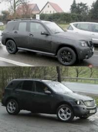 Mercedes MLK et GLK : 2 SUV de plus !