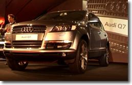 Parterre de stars pour la nouvelle Audi Q7