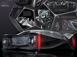 Les vainqueurs du Concours Los Angeles Design Challenge 2010 ? Cadillac Aera et Smart 454 WWT