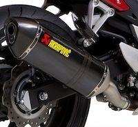 Akrapovic: deux silencieux pour la Honda CB500