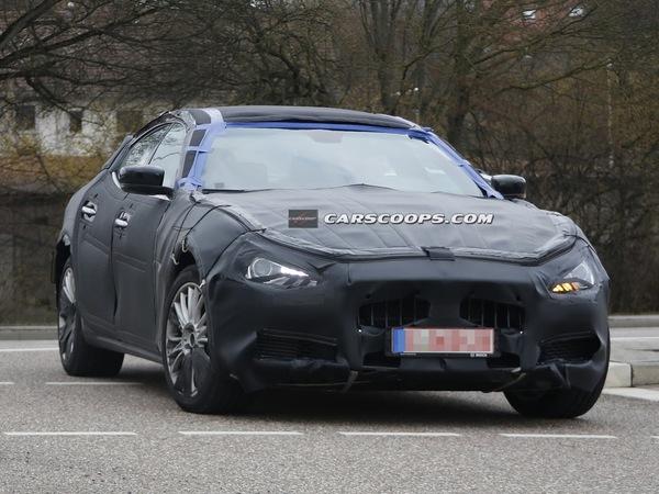 Future Maserati Ghibli : définitive mais toujours bien masquée