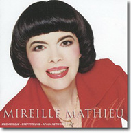 Mireille Mathieu, fan de F1 !
