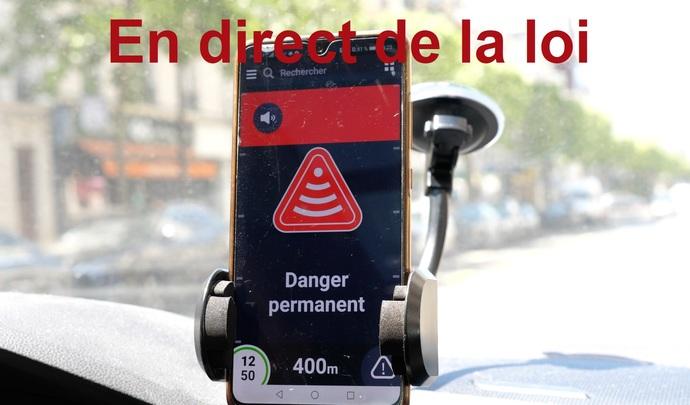 En direct de la loi – Avertisseurs de radars: leurs alertes neutralisées?