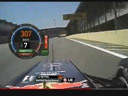 [vidéo] Glissez-vous dans la peau de Sébastien Vettel à Interlagos
