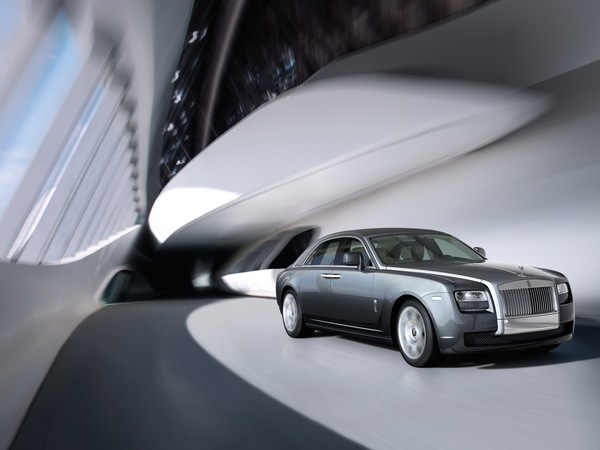 Francfort 2009 : Rolls Royce Ghost officielle
