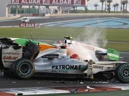 Schumacher s'est fait une grosse frayeur