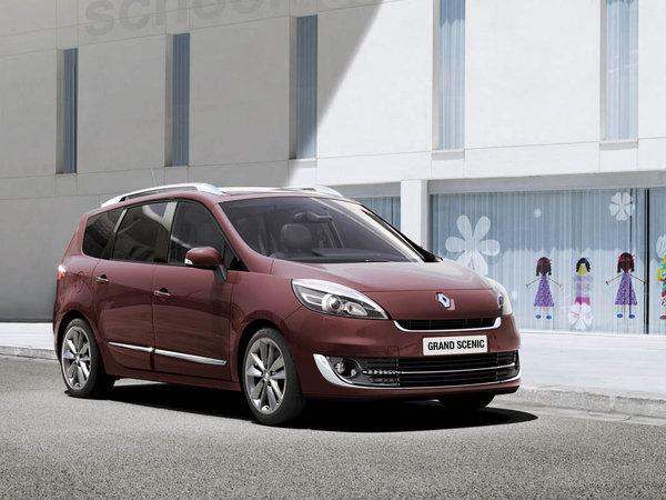 Renault Scénic et Grand Scénic Collection 2012, c'est un restyling
