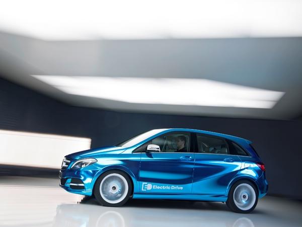 Mercedes : une concurrente à la BMW i3 à venir ?