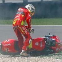 Vidéo moto : 250cc, la chute de Lorenzo, Moto GP Italie