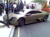 La vidéo du jour : une Lamborghini Murciélago LP640 honteusement crashée !!!