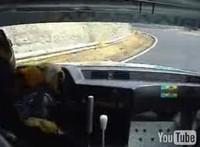 Vidéo : Course de côte en BMW 635  : vive la glisse !!