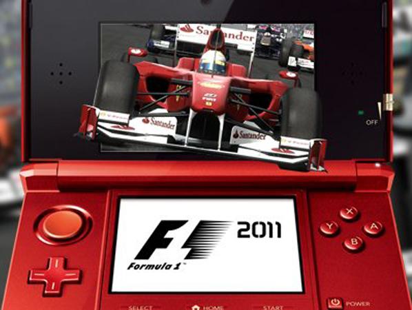 F1 2011 3DS : le test