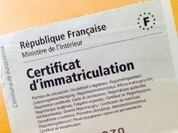 Certificat d'immatriculation : on peut désormais connaître son coût exact en ligne