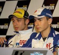 Moto GP - Espagne: Rossi promet à Lorenzo le même sort qu'à Gibernau
