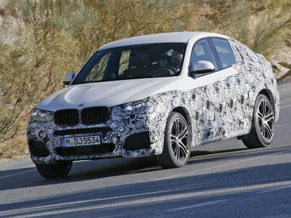 Une version musclée du BMW X4 surprise