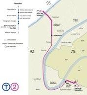 Prolongement du tramway T2/Région Île-de-France : un nouveau plan de circulation est lancé