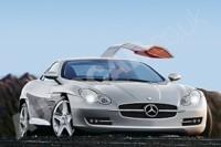 Future Mercedes SLC: à portes papillon