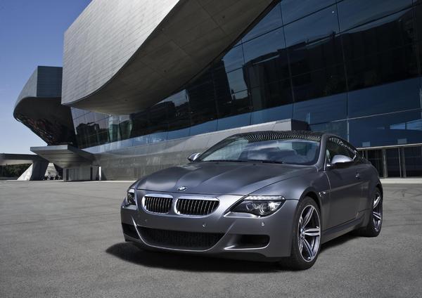 Francfort 2009 : BMW M6 Compétition Edition Limitée