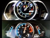 Vidéo : la Lamborghini Huracán défie l'Aventador Roadster sur un run à 300 km/h