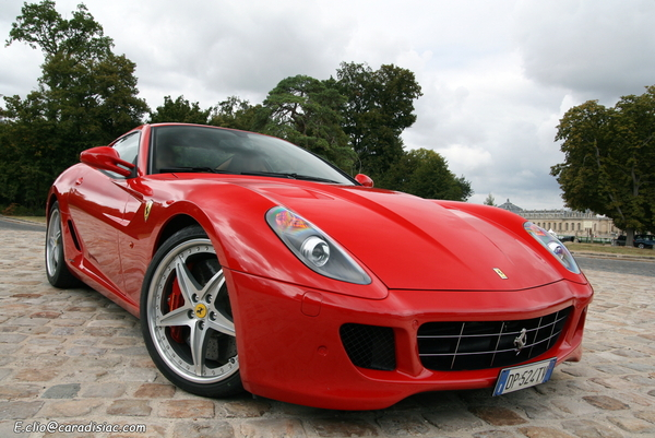Photos du jour : Ferrari 599 HGTE