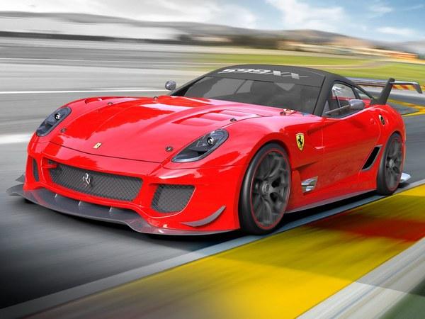 Bologne 2011 - Ferrari 599 XX Evoluzione : toujours plus