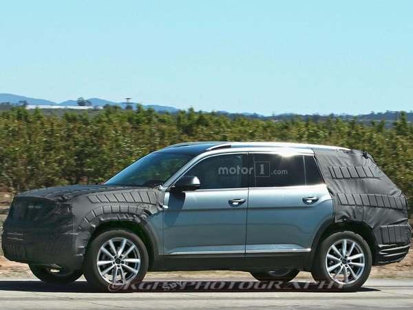 Scoop : un SUV sept places Volkswagen en balade aux US