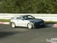La vidéo du jour : Future Nissan Skyline GT-R sur le Ring' !