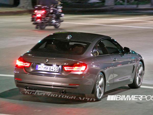 Surprise : la première BMW Série 4 de série enfin nue