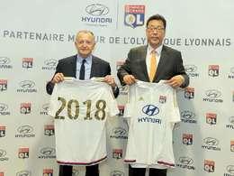 Entre Hyundai et l'Olympique Lyonnais, ça roule