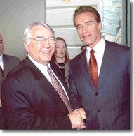 Arnold Scwharzenegger, le Terminator des paparazzi