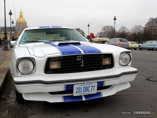 Photos du jour : Ford Mustang Cobra 2 1977 (Traversée de Paris)