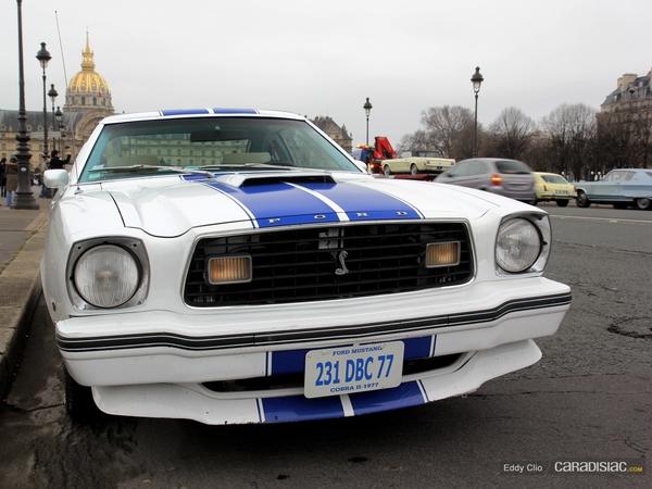 Photos du jour : Ford Mustang Cobra 2 1977 (Traversée de Paris)