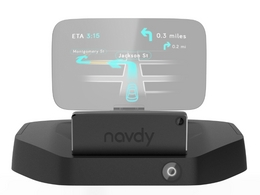 "Navdy présente la ""Google Glass"" de l'automobile"
