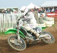 Grégory Aranda remporte la première manche à Plomion