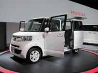 Salon de Tokyo - De notre envoyé spécial - Honda N Box : fer à repasser motorisé