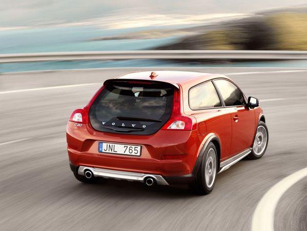 Francfort 2009 : Volvo C30 restylée officielle