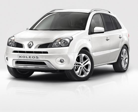 Renault écoule plus blanc : Koleos White Edition