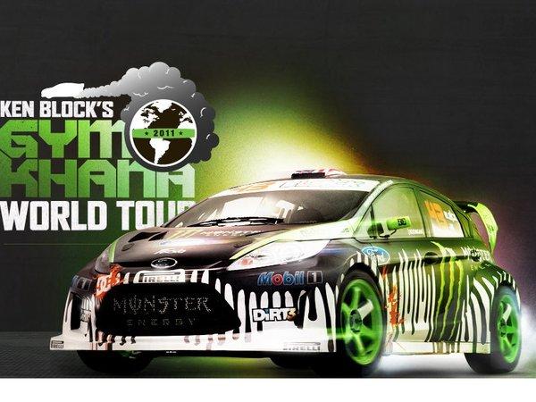 Gymkhana World Tour 2011 de Ken Block : le résumé vidéo en moins de 6mn