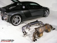 Echappement Milltek sur Audi R8 :vidéo, montage et son !!