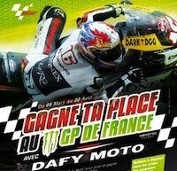 Jeu concours: Dafy Moto vous offre des places pour le GP de France.