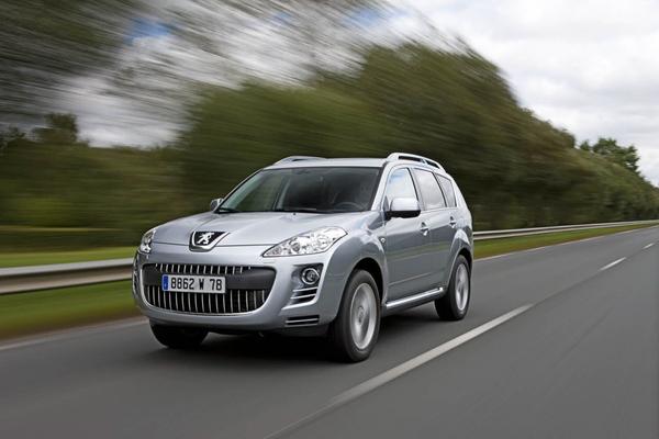 Francfort 2009 : Peugeot 4007 2.2l HDi FAP DCS 6  156 ch, un double zéro pour inaugurer la double embrayage
