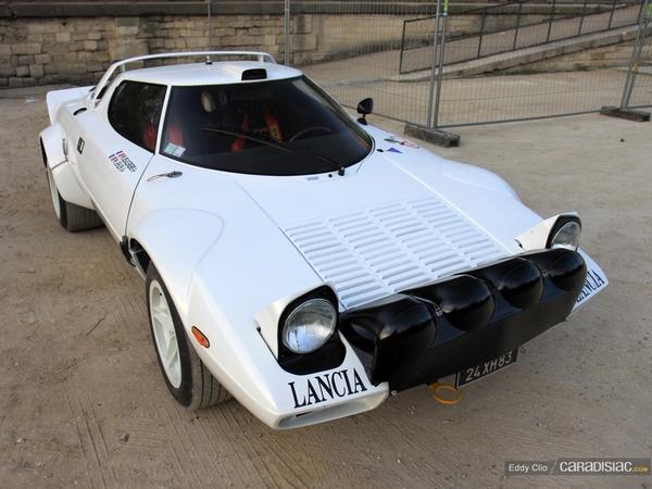 Photos du jour : Lancia Stratos (Tour Auto)