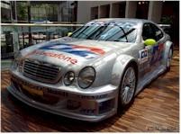 Photo du jour : Mercedes CLK DTM
