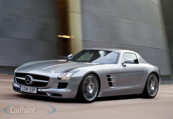 Francfort 2009 : Mercedes SLS AMG plus vite que prévu