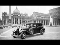 La première papamobile de Mercedes