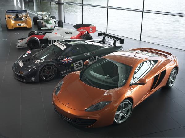 McLaren MP4-12C : faites le plein de photos HD et de vidéos