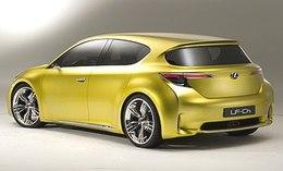 Francfort 2009 : un tour de (pas 'en') Lexus LF-Ch Concept