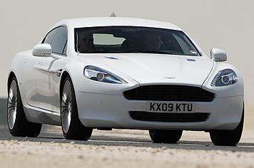 Aston Martin Rapide par l'Oeil de Lynx