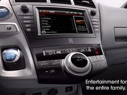 Salon de Détroit 2011 / monospace Toyota Prius : un nouveau teaser