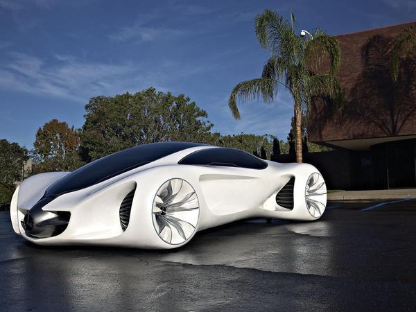 Los Angeles 2010 : Mercedes Biome, la voiture d'Avatar